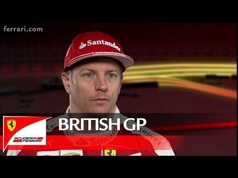 Suurbritannia GP 2016 - eelvaade, Ferrari, Kimi Räikkönen