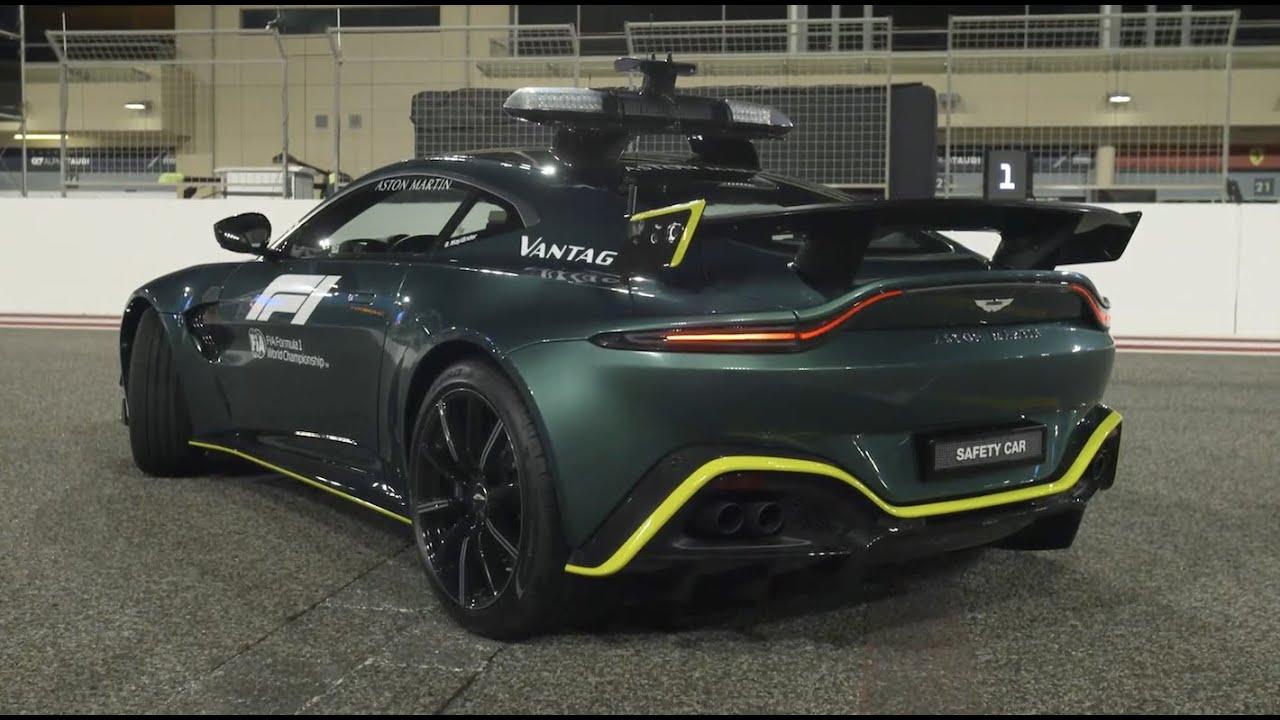 Uue vormel-1 turvaauto, Aston Martin Vantage tutvustus