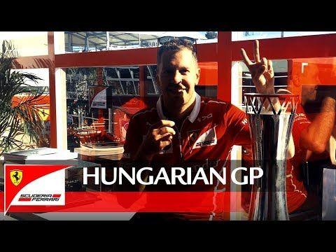 Ungari GP 2017 - sõit, Ferrari, Vettel