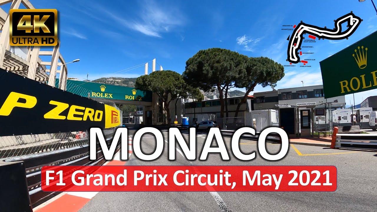 Vaata milline näev välja Monaco GP rada 3 päeva enne etapi algust