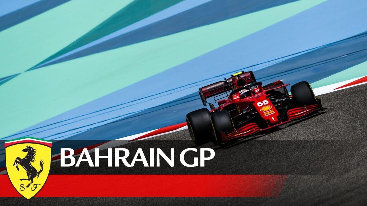 Bahreini GP 2021 - eelvaade, Ferrari