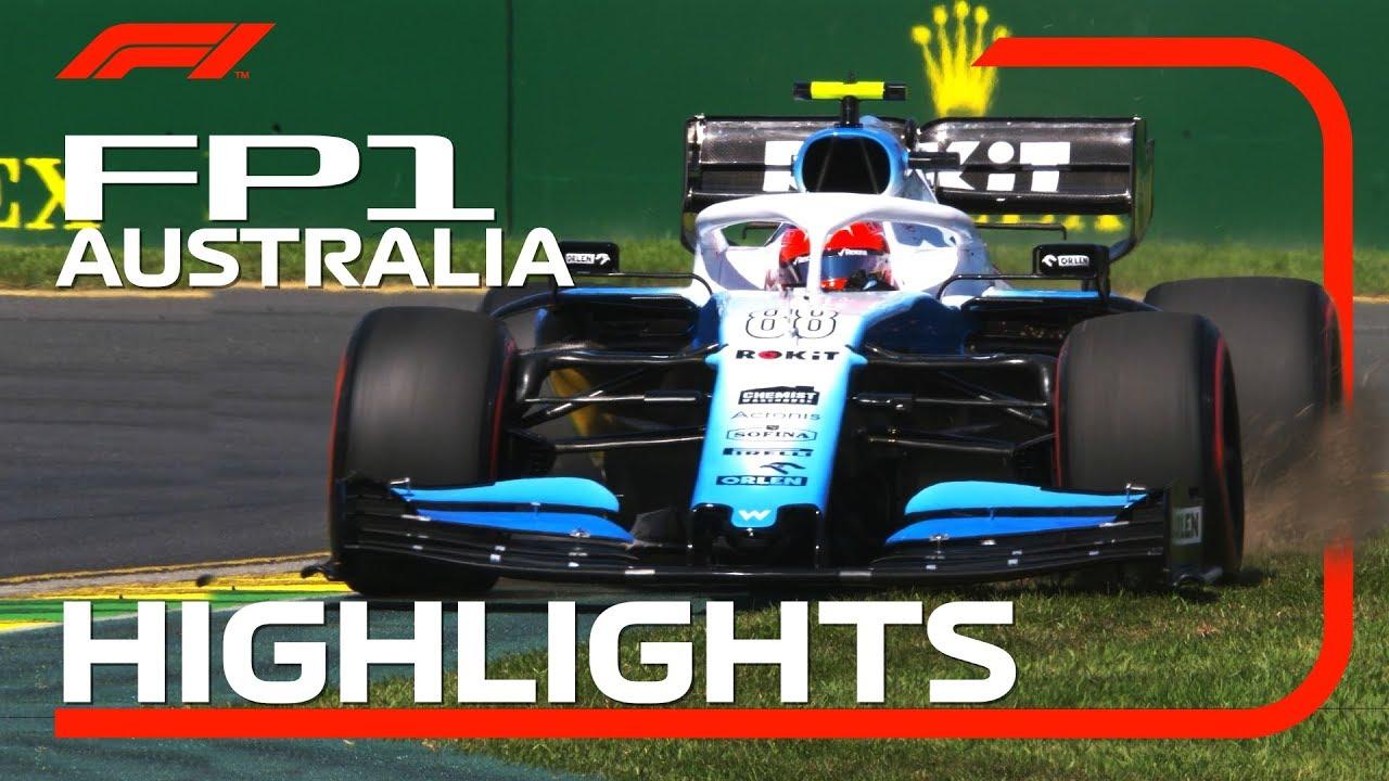 Austraalia GP 2019 - esimene vabatreening, ülevaade, Formula1