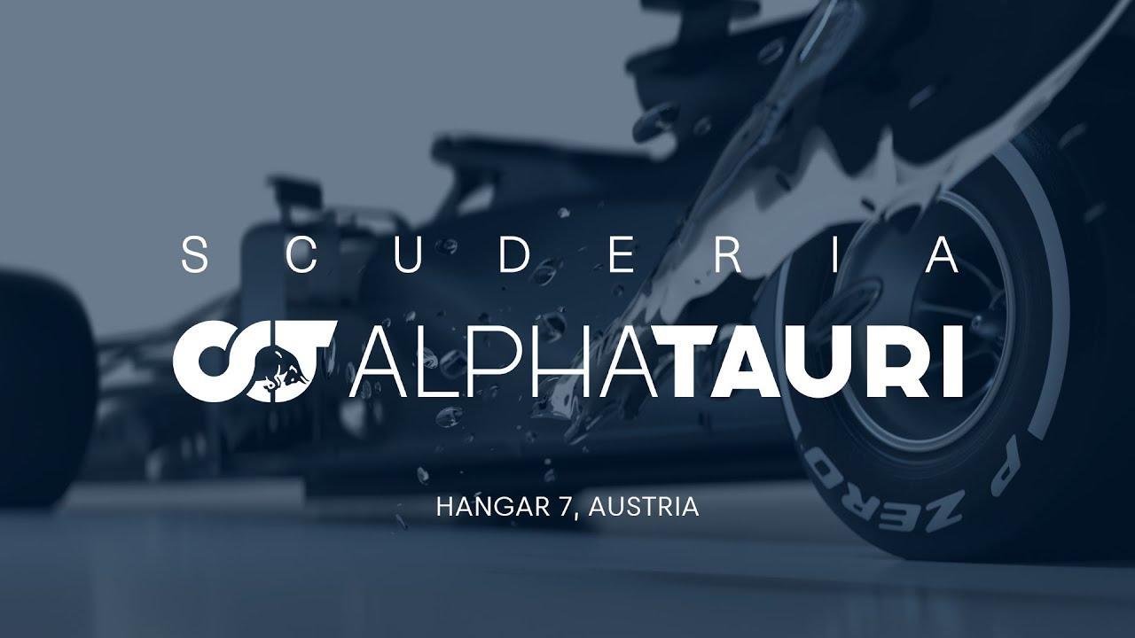 Scuderia AlphaTauri 2020 masina esitlus järelvaadatavana