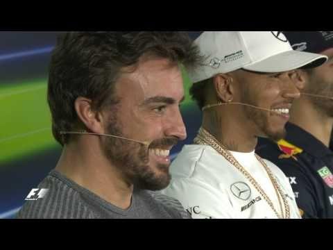 Austraalia GP 2017 - neljapäevane sõitjate pressikonverents