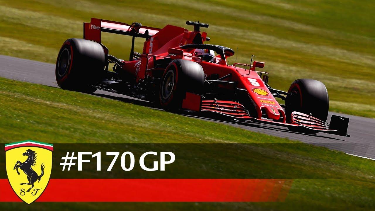 Ferrari eelvaade 70. juubeli GP-le