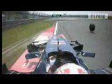 Hiina GP 2010 - 1. vabatreening, Sebastian Buemi õnnetus pikem