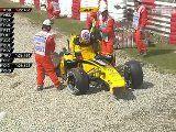 Hispaania GP 2010 - kolmas vabatreening, Vitaly Petrov väljasõit