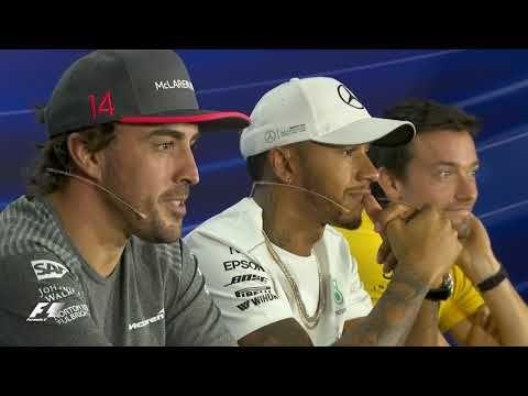 Singapuri GP 2017 - neljapäevane sõitjate pressikonverents, Formula1