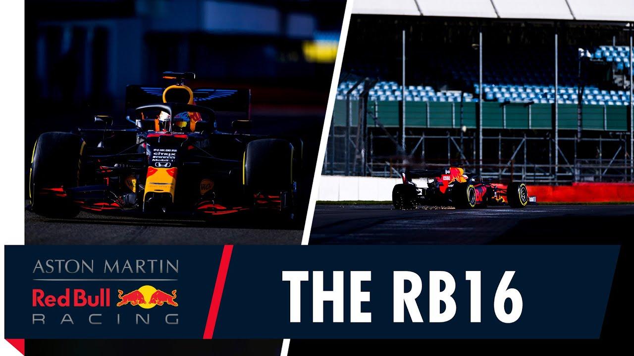 Red Bull RB16 esimesed ringid rajal