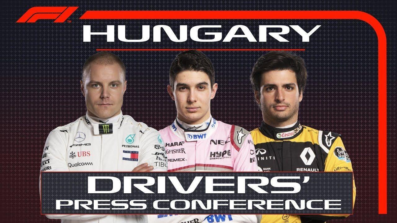 Ungari GP 2018 - neljapäevane sõitjate pressikonverents, F1