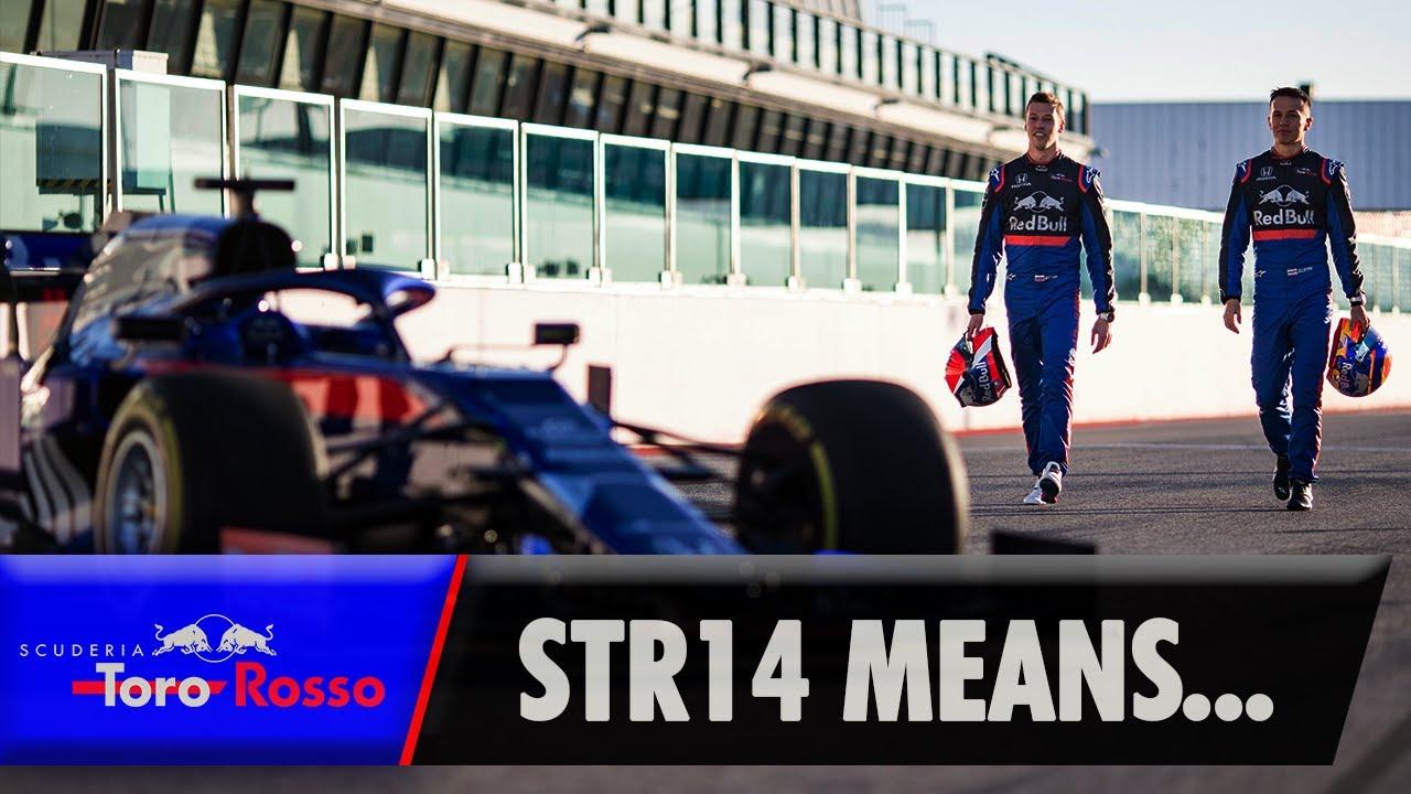 Hooaeg 2019 - Toro Rosso STR14