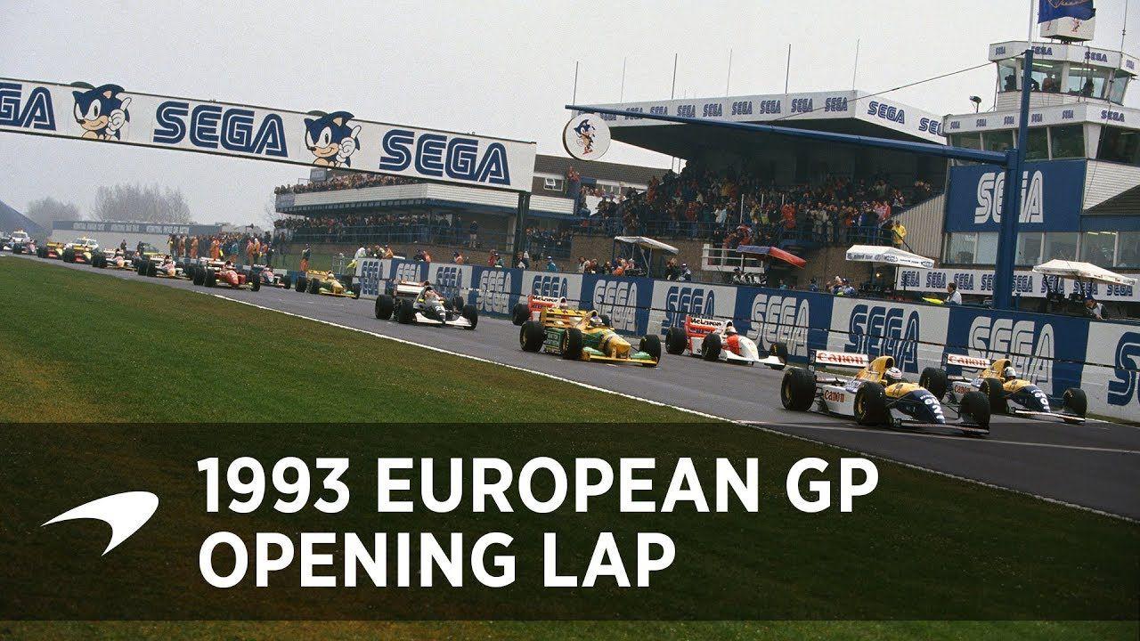 Euroopa GP 1993 - sõit, Ayrton Senna avaring