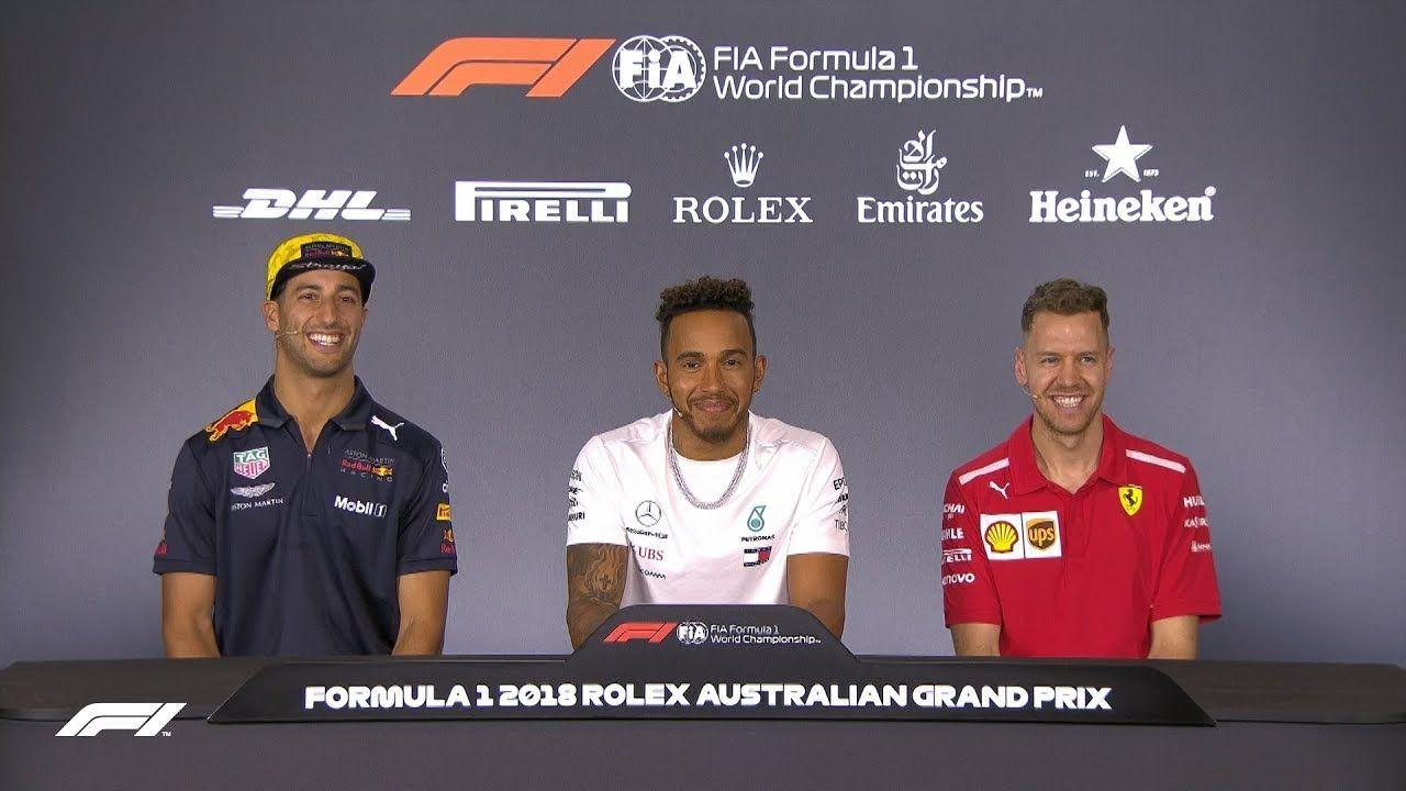 Austraalia GP 2018 - neljapäevane sõitjate pressikonverents, F1