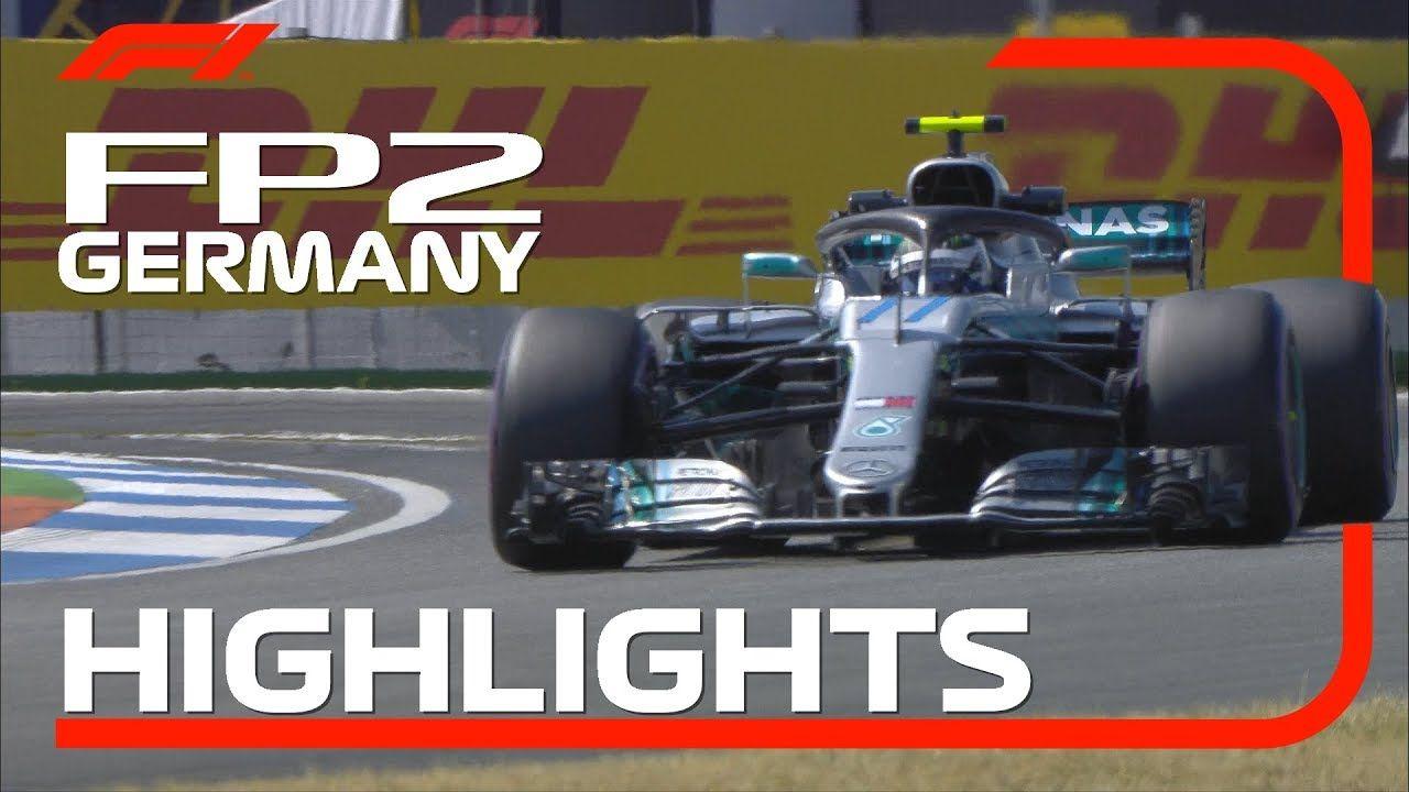 Saksamaa GP 2018 - teine vabatreening, ülevaade, F1