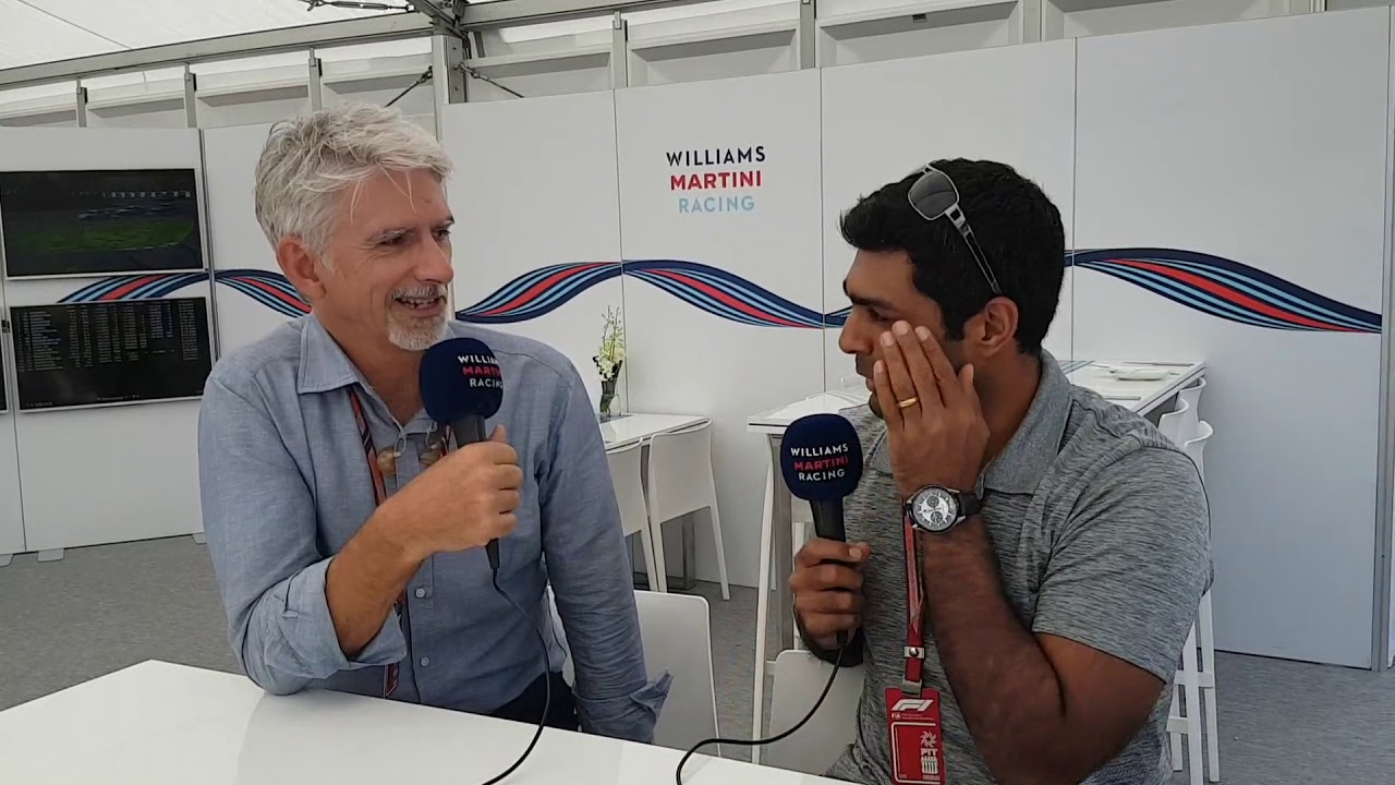 Jaapani GP 2018 - eelvaade, Damon Hill, Williams