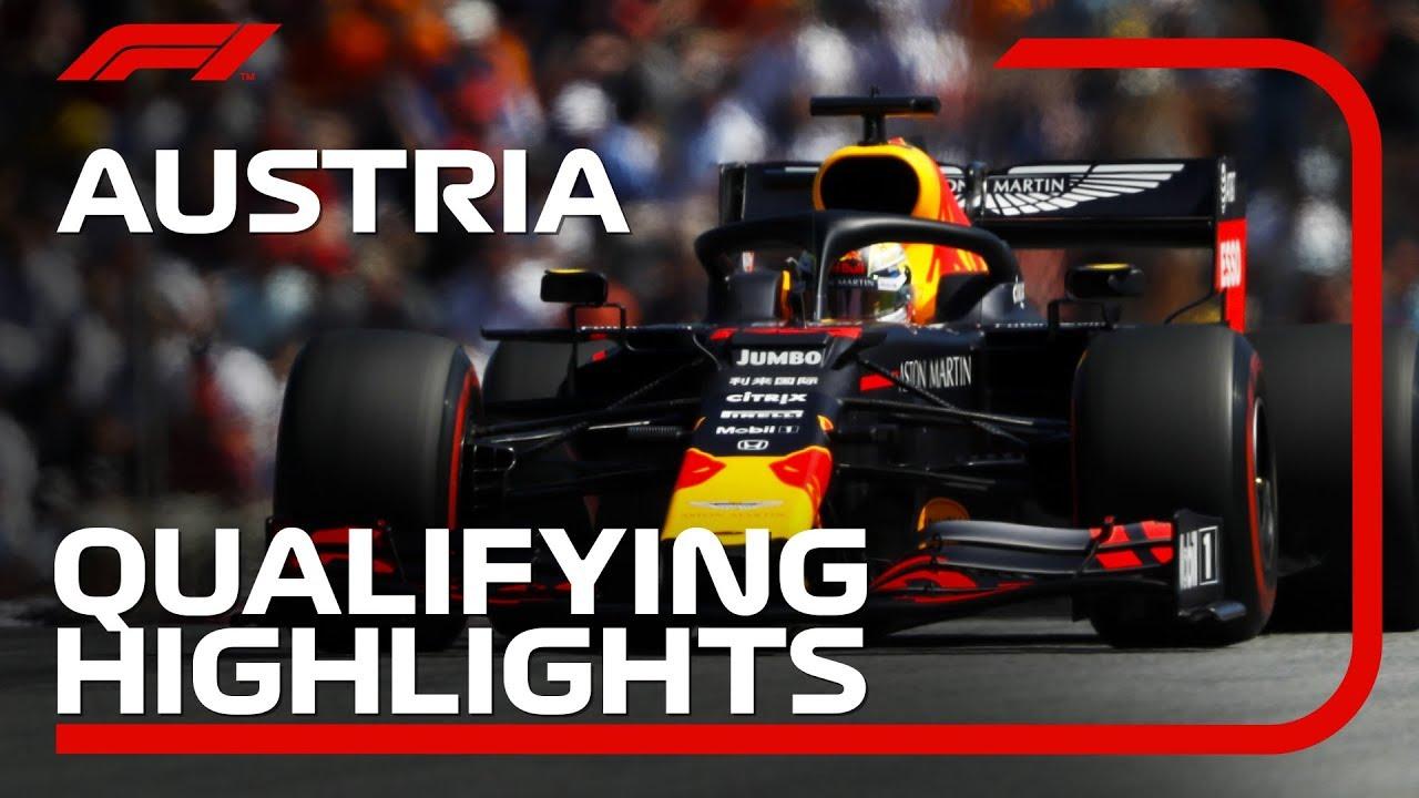 Austria GP 2019 - kvalifikatsioon, ülevaade, Formula1
