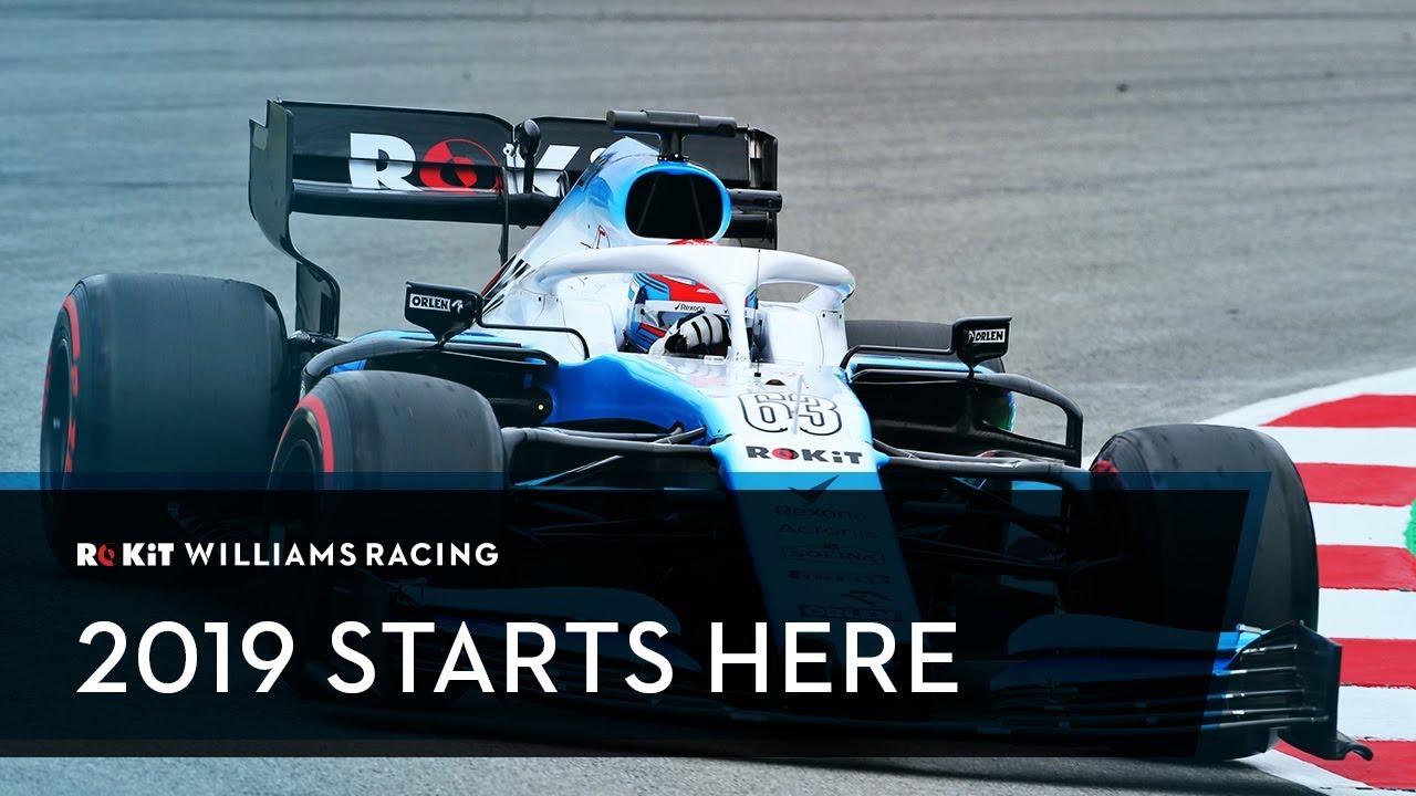 Hooaeg 2019 - Williams, uued sõitjad, uus hooaeg