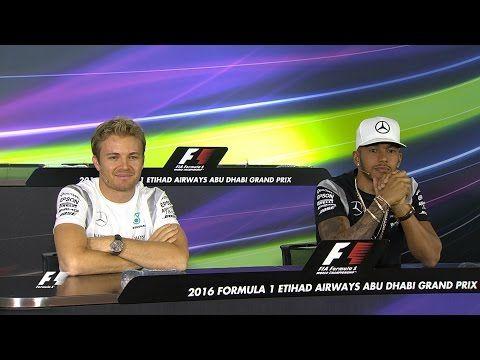Araabia Ühendemiraatide GP 2016 - eelvaade, Hamilton ja Rosberg