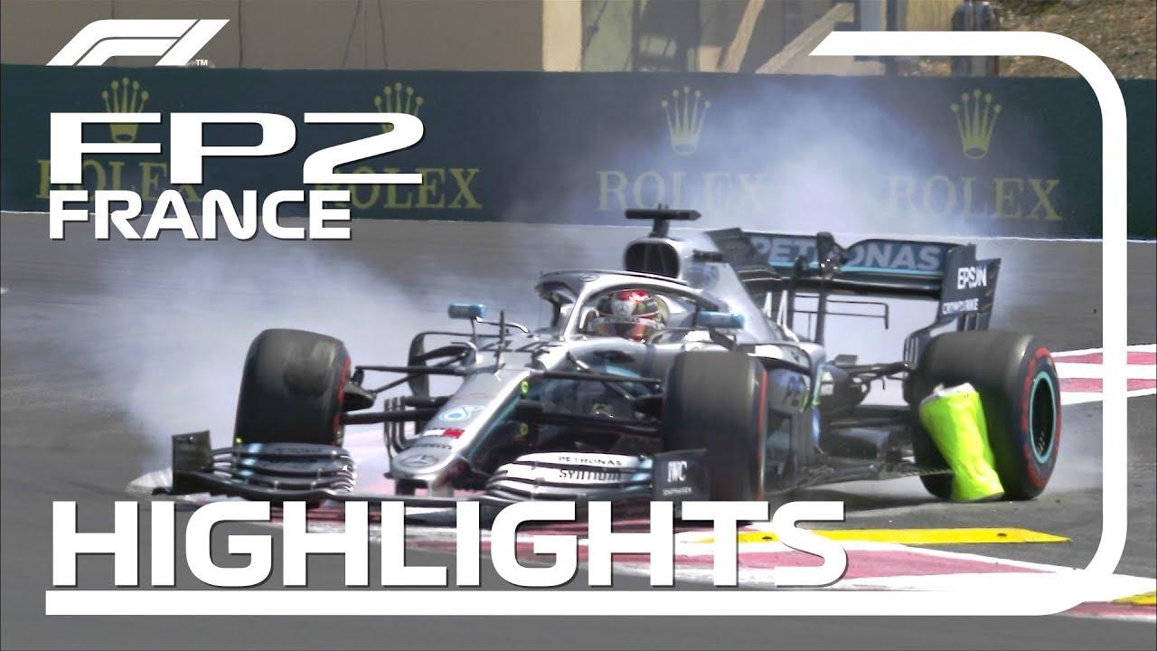 Prantsusmaa GP 2019 - teine vabatreening, ülevaade, F1