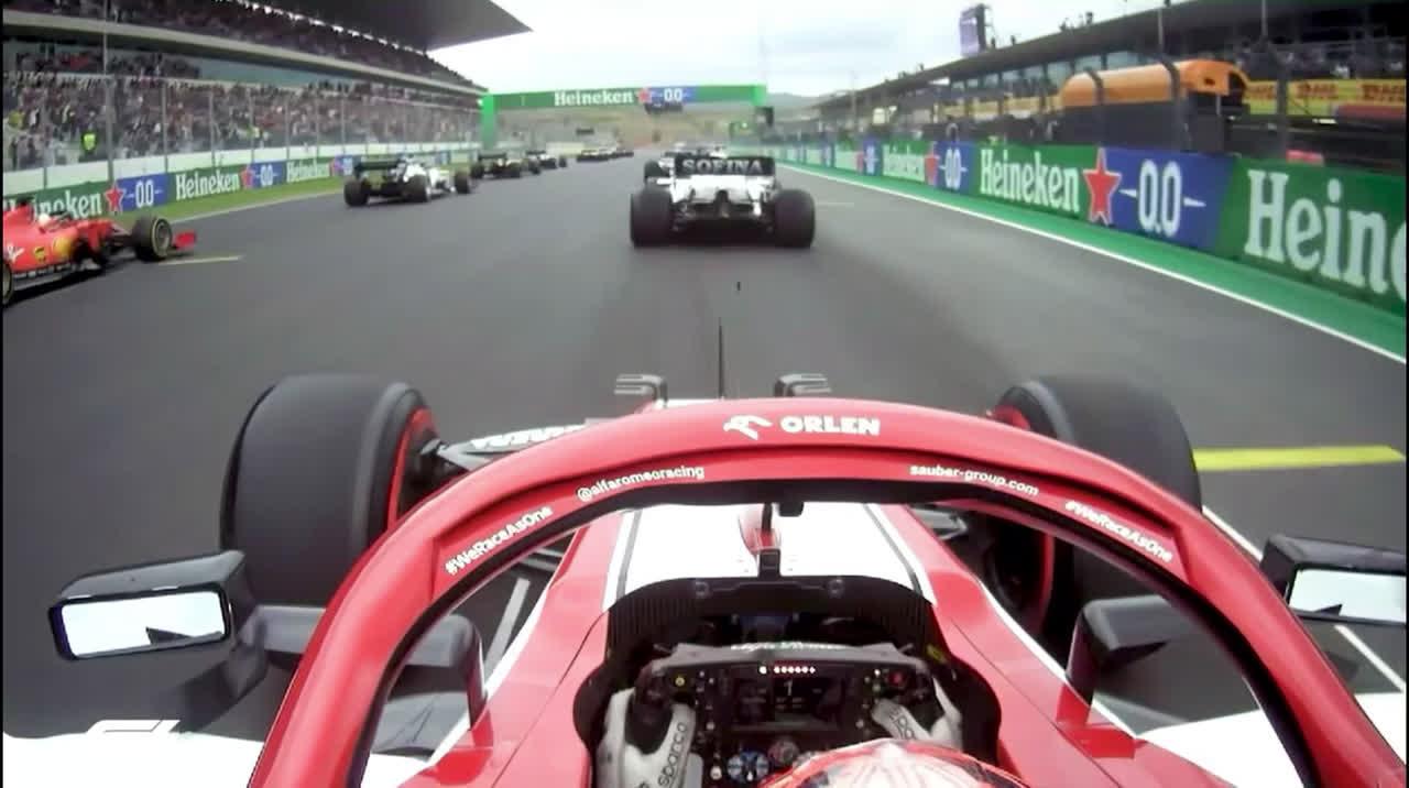 Räikköneni hullumeelne esimene ring Portugalis