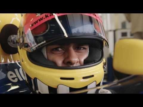 Williams FW14B - Karun Chandhoki test