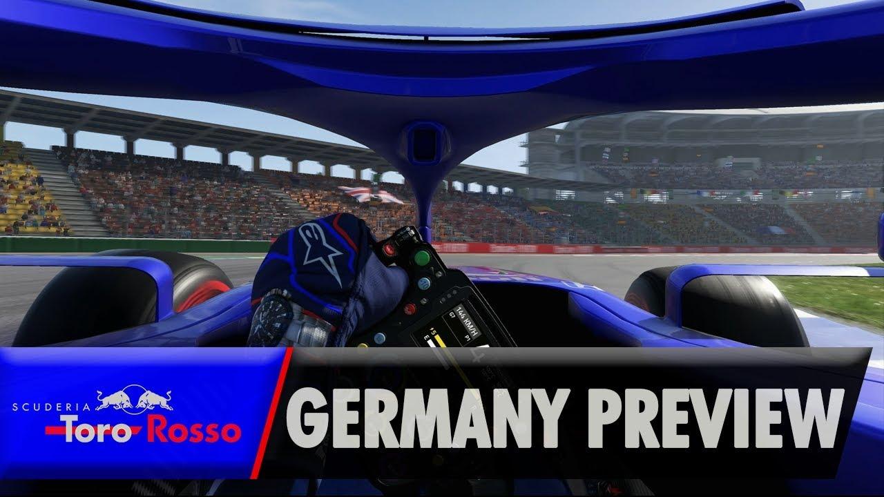 Daniil Kvyat tutvustab eelolevat Saksamaa vormel-1 võistlust