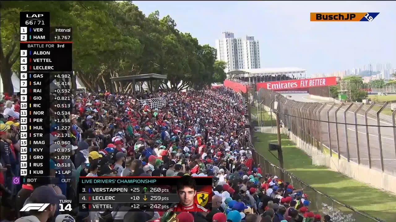 Ferraride kokkupõrge Brasiilias