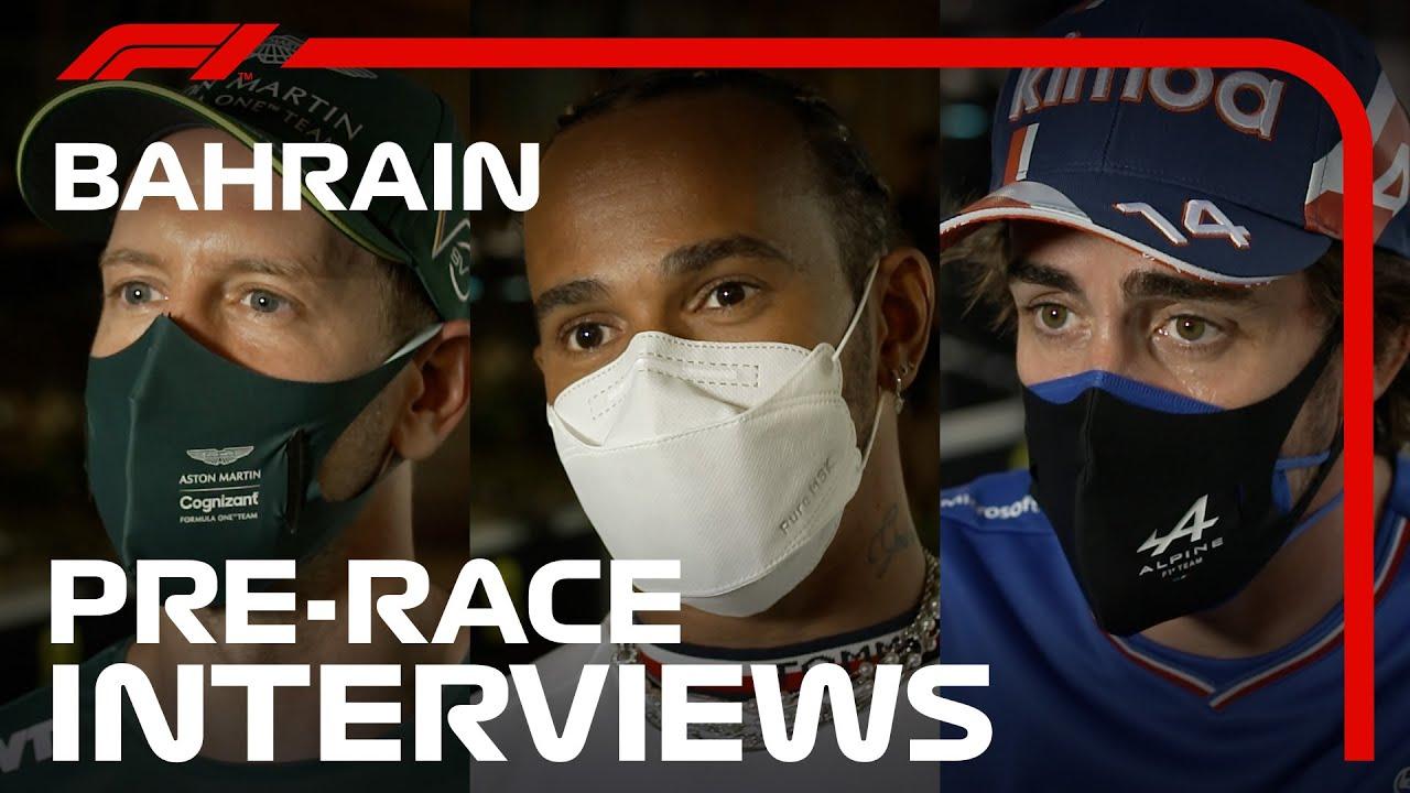 Sõitjate kommentaarid Bahreini GP eelselt