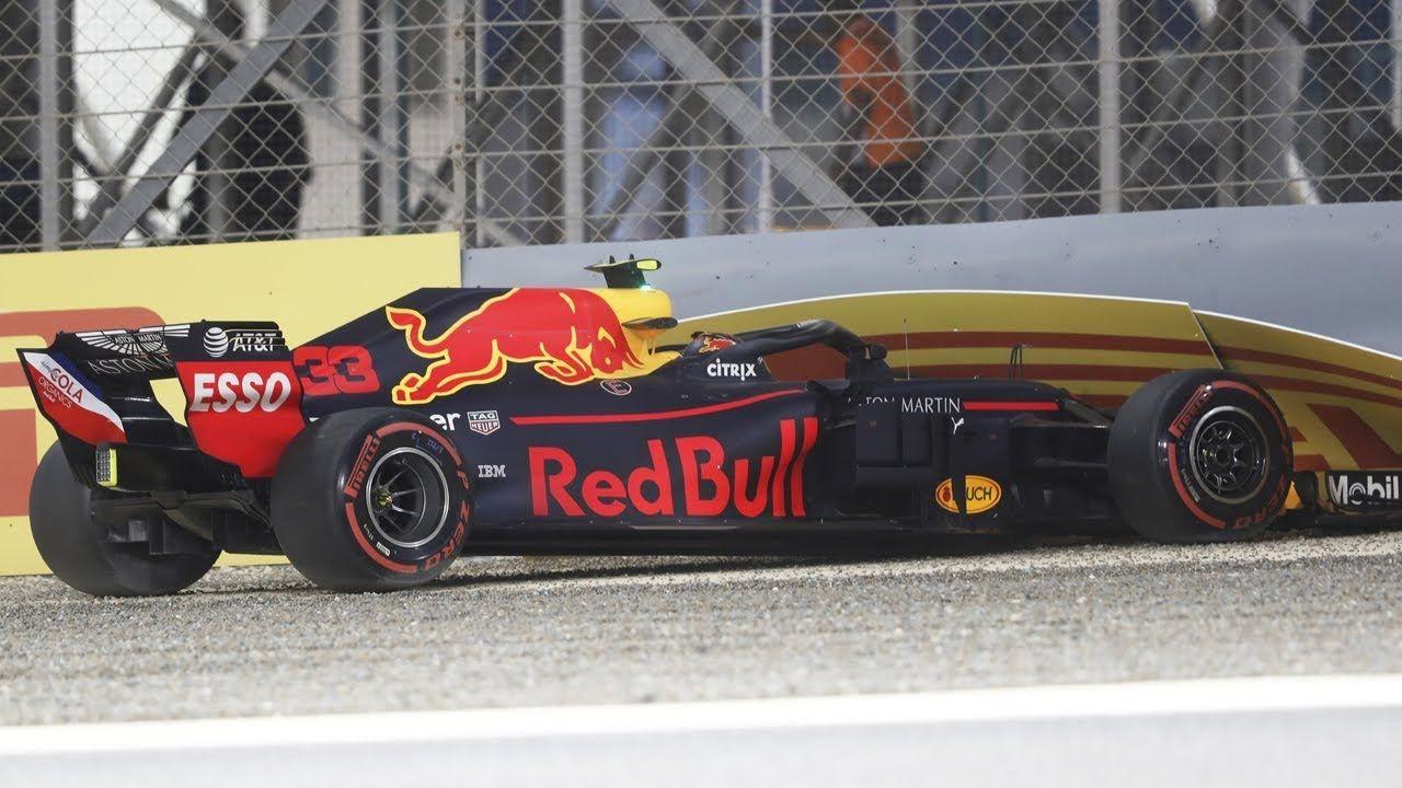 Bahreini GP 2018 - kvalifikatsioon, Verstappeni seinasõit