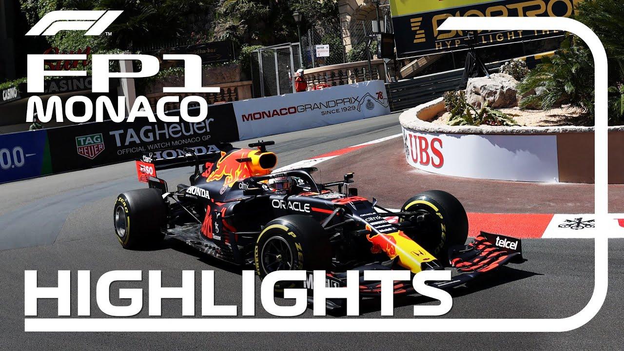 Monaco GP 2021 - esimese vabatreeningu kokkuvõte, Formula 1