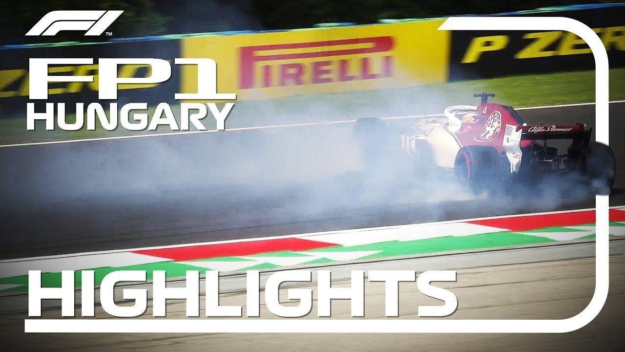 Ungari GP 2018 - esimene vabatreening, ülevaade, F1