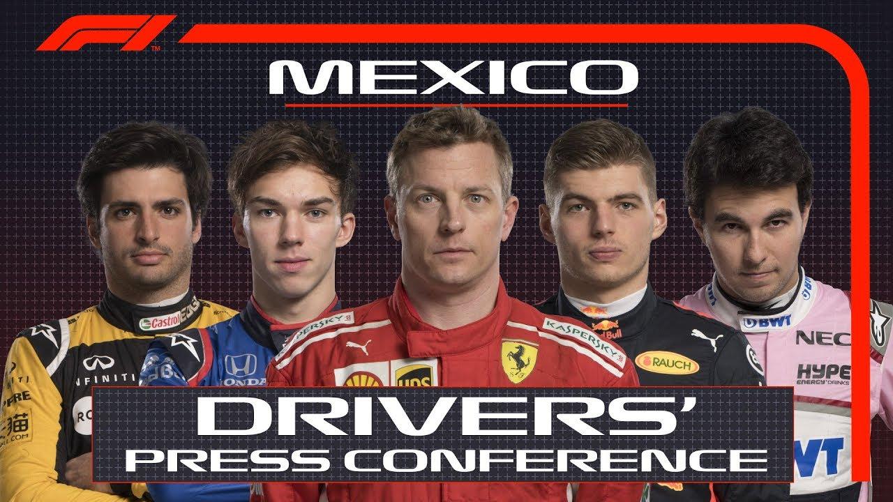 Mehhiko GP 2018 - neljapäevane sõitjate pressikonverents, F1