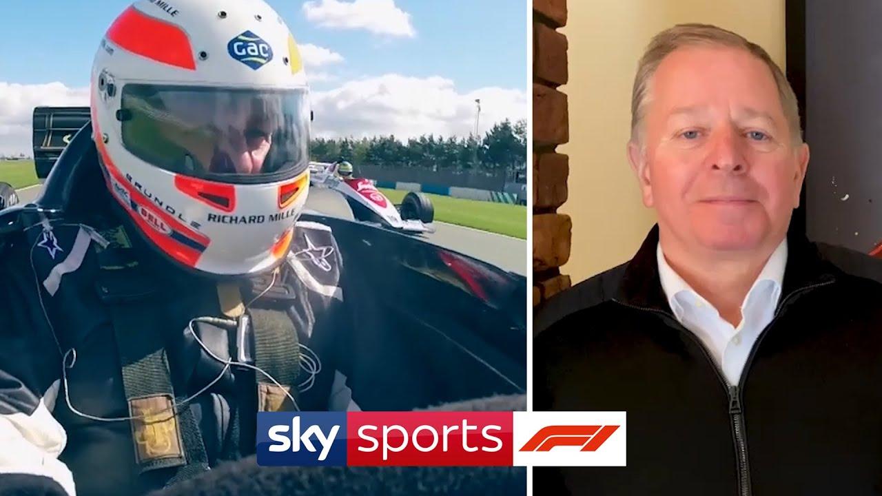 Martin Brundle tutvustab vana Spa ringrada, sõidab Senna masinatega ja palju muud