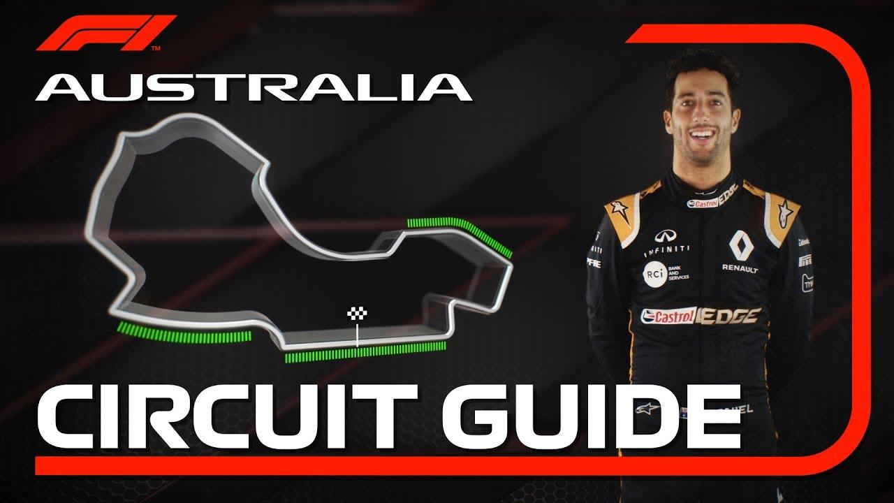 Austraalia GP 2019 - eelvaade, Ricciardo, Formula1