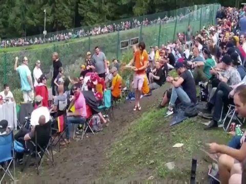 Belgia GP 2017 - elu fännisektoris