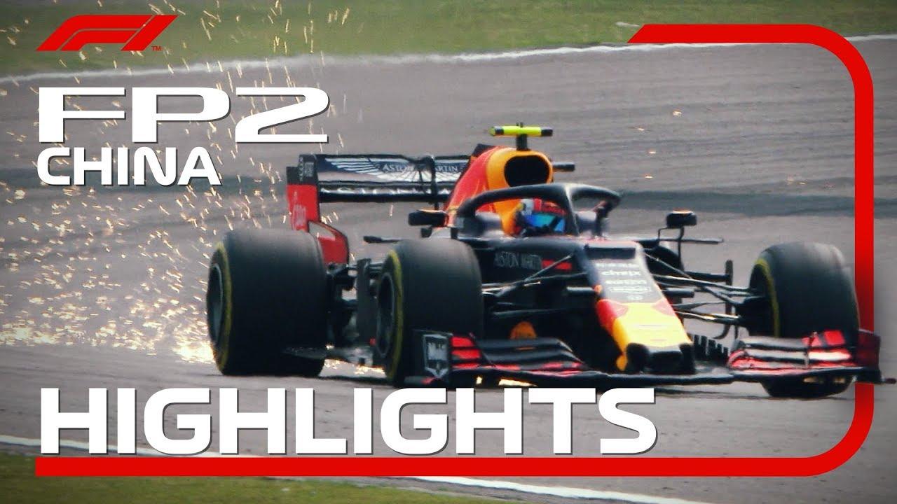 Hiina GP 2019 - teine vabatreening, ülevaade, Formula1