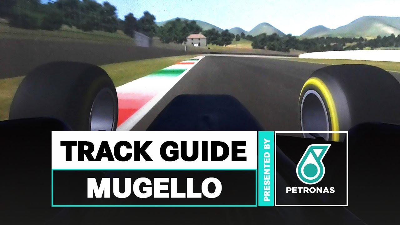 Mercedese meeskonna esimene ring Mugello ringrajal simulaatoril
