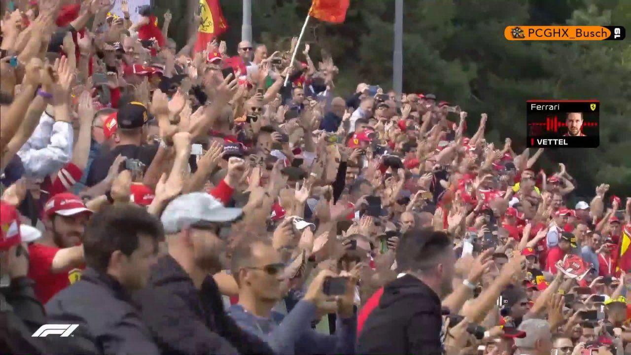 Itaalia GP 2018 - kvalifikatsioon, Vetteli raadioside pärast Räikköneni võitu