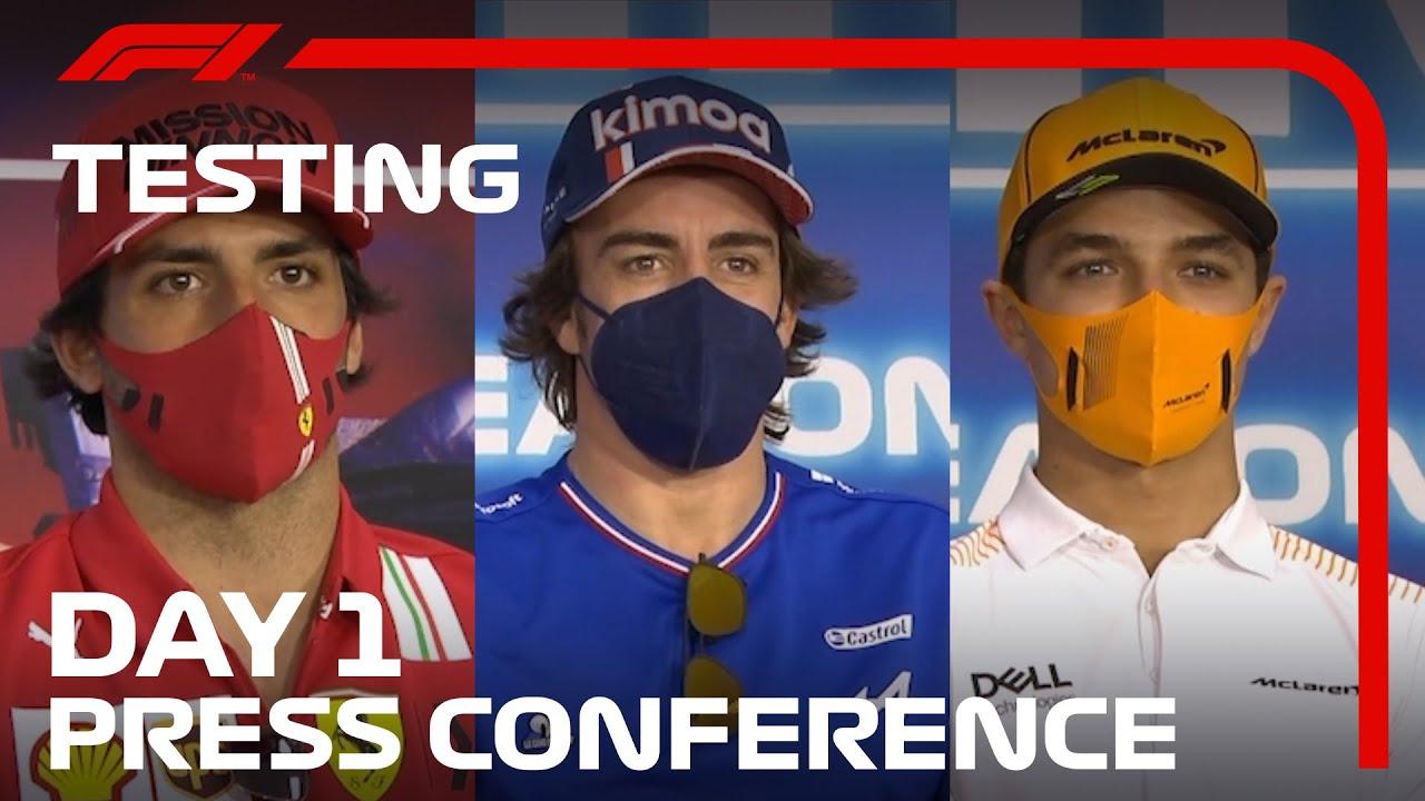 Bahreini testi esimese päeva sõitjate pressikonverentsi parimad palad