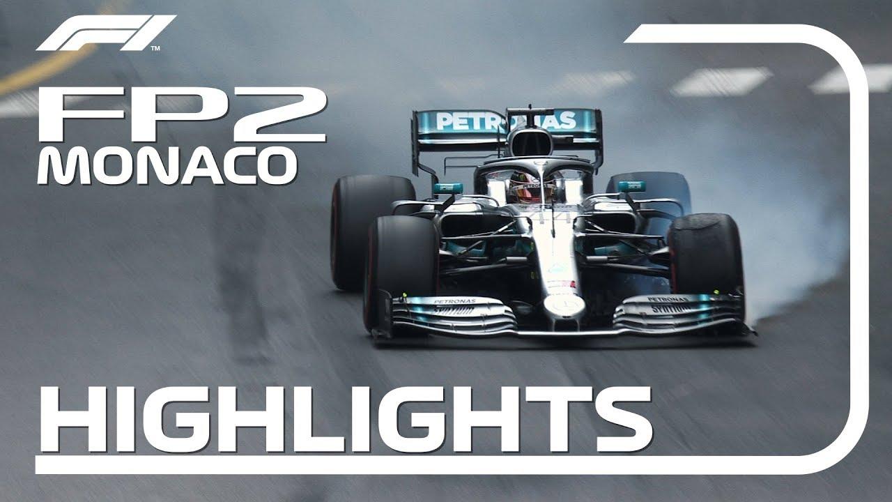 Monaco GP 2019 - teine vabatreening, ülevaade, Formula1