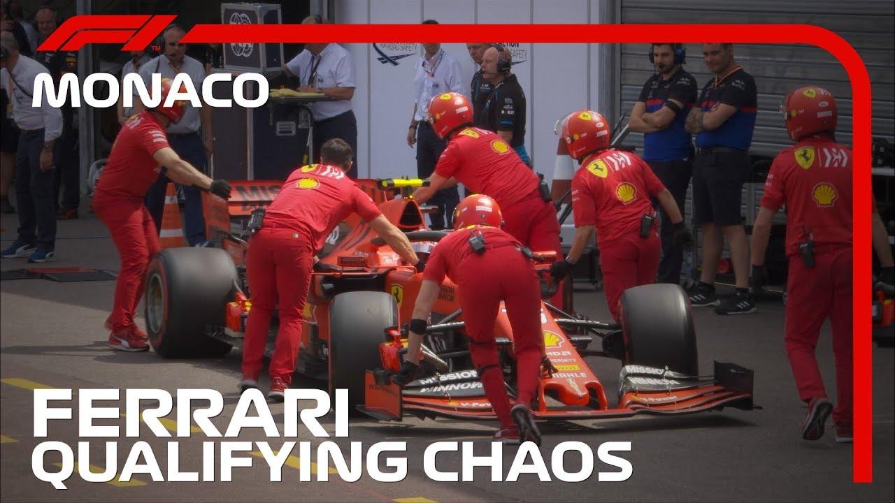 Monaco GP 2019 - kvalifikatsioon, Ferraride seiklused, F1