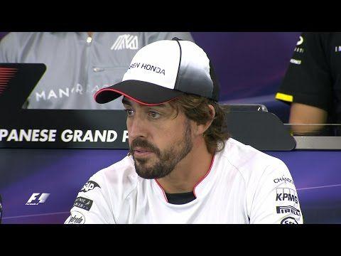 Jaapani GP 2016 - eelvaade, sõitjate pressikonverents