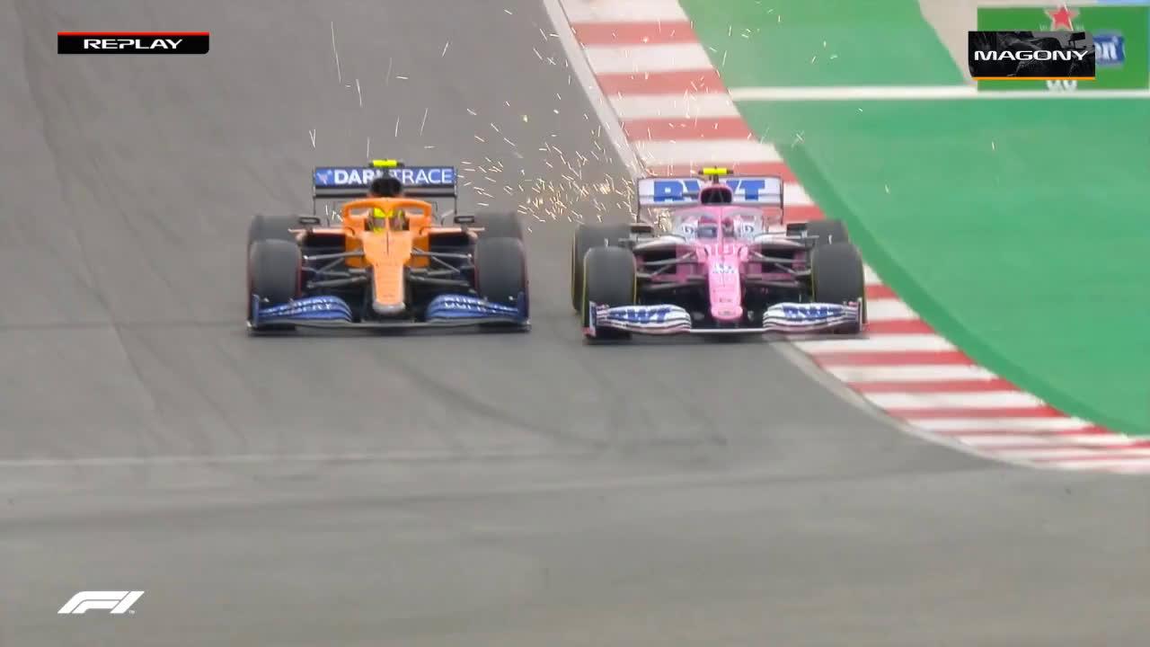 Strolli ja Norrise kokkupõrge Portugali GP-l