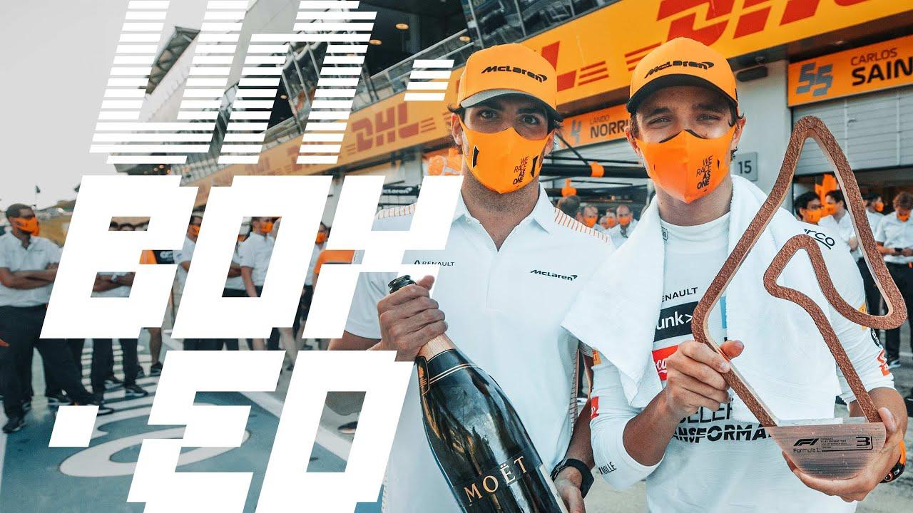 McLareni tiimi telgitagused kogu Austria GP nädalavahetuse