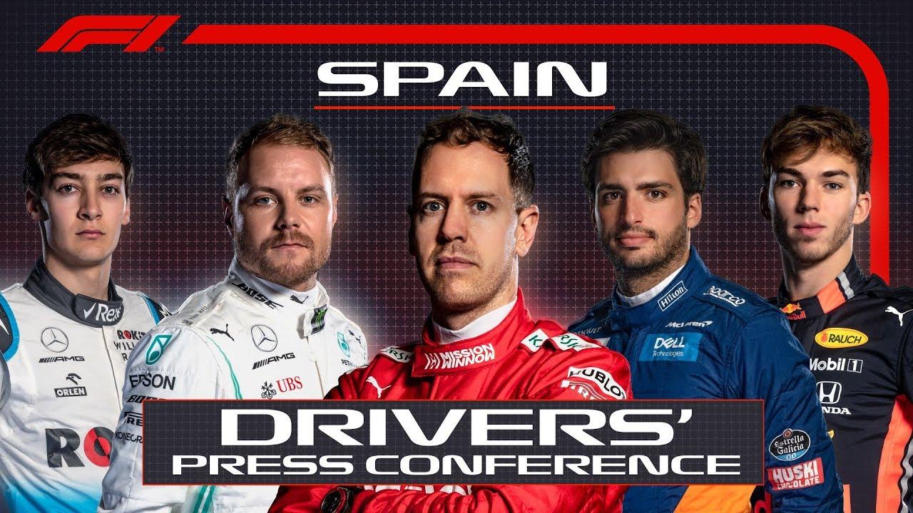 Hispaania GP 2019 - neljapäevane sõitjate pressikonverents, F1